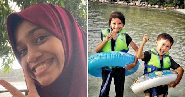 Tiga kanak-kanak maut ditemukan lemas