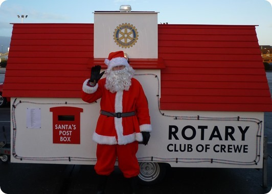Rotary Club of Crewe - Santa  Float