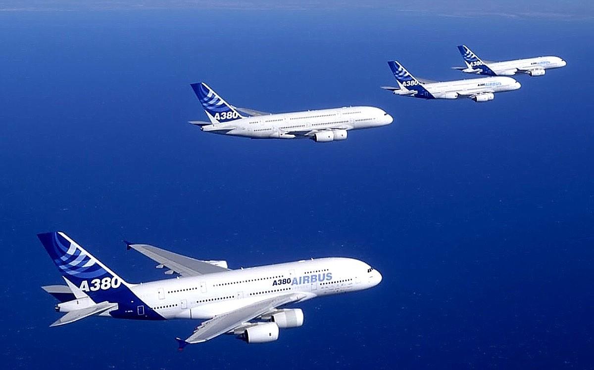 Airbus A380 Aircraft Wallpaper 2