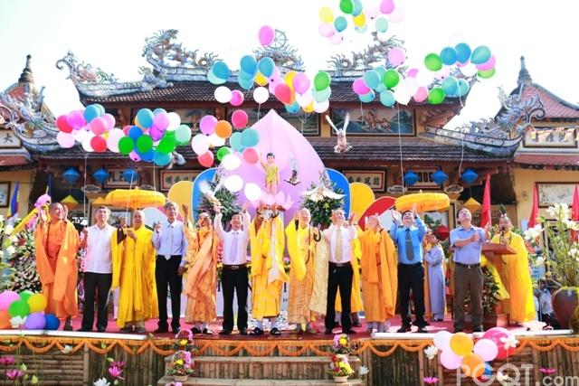 Triệu Phong: Ban trị sự trang nghiêm tổ chức đại lễ Phật Đản PL 2560