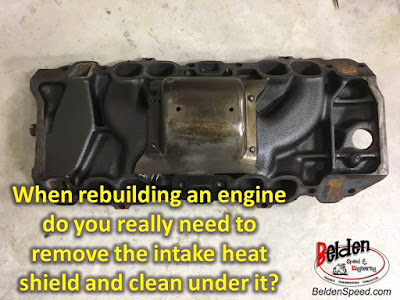 When Rebuilding Your Engine Don't Forget To Remove And Clean