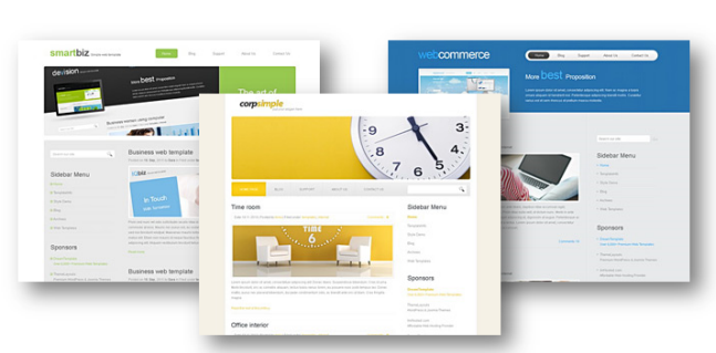 สุดยอด15+ templates เว็บไซต์สวยๆๆด้วย css