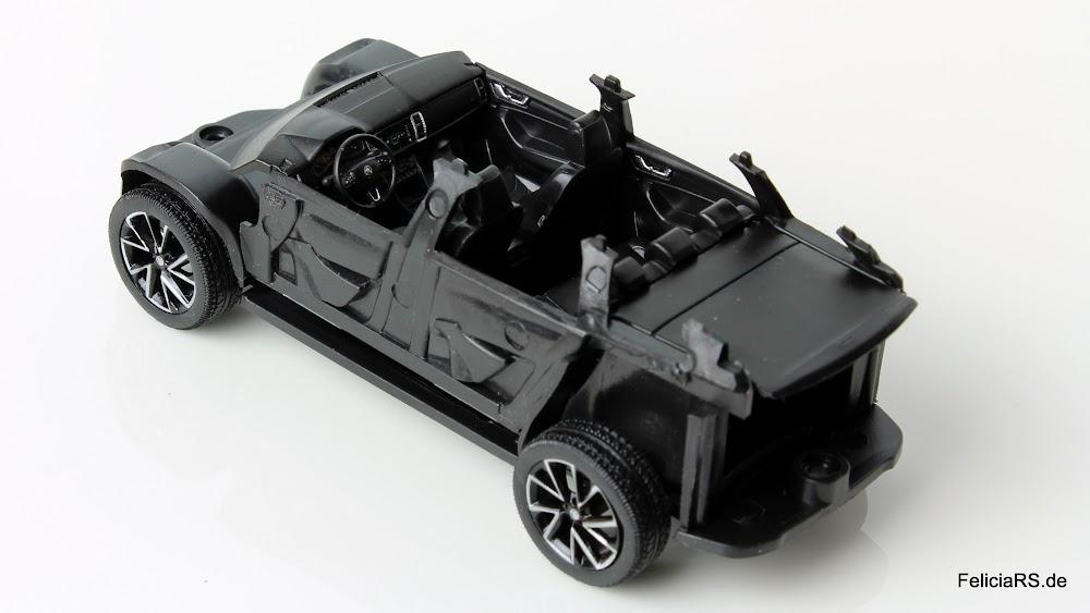 Škoda Kodiaq 1:43 Norev Innenraum