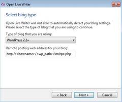выбрать тип блога
