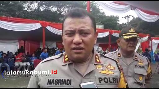 Kapolres Sukabumi : Masyarakat Sabar Hingga Ketuk Palu Pleno Penghitungan Suara Pemilu 2019