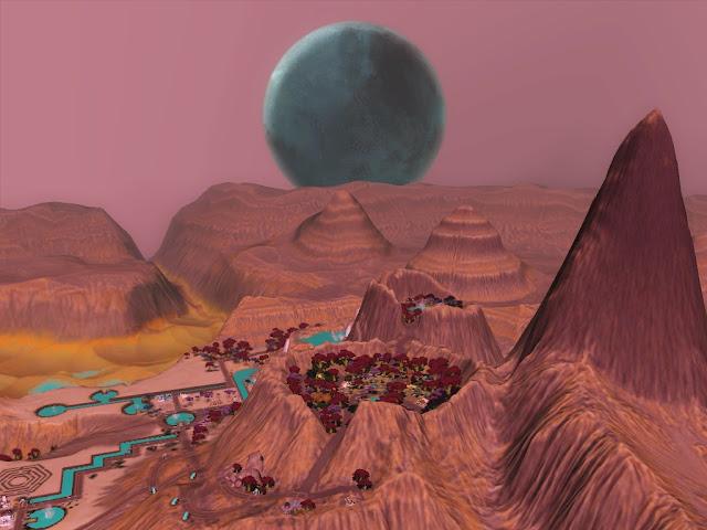 Extraña Luna de Lunar Lakes Screenshot-27