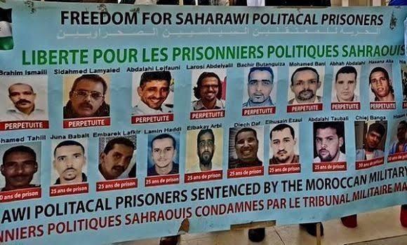 Presos políticos de Gdeim Izik: 10 años de prisión en cárceles marroquíes.