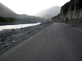 KKH before Sost village