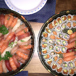 sushi for days from Saku Sushi Toronto in Toronto, Ontario, Canada