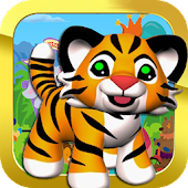 Cute Tiger In Circus