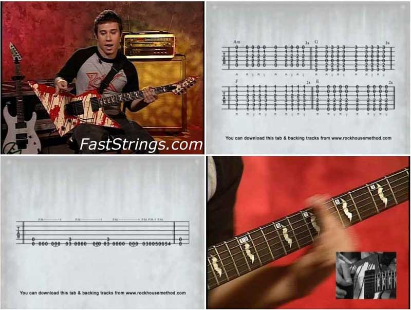 Dan Jacobs - Metal Guitar: Leads, Runs And Rhythms Level 1