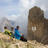 Making of Fotoshooting Dolomiten 27.05.12