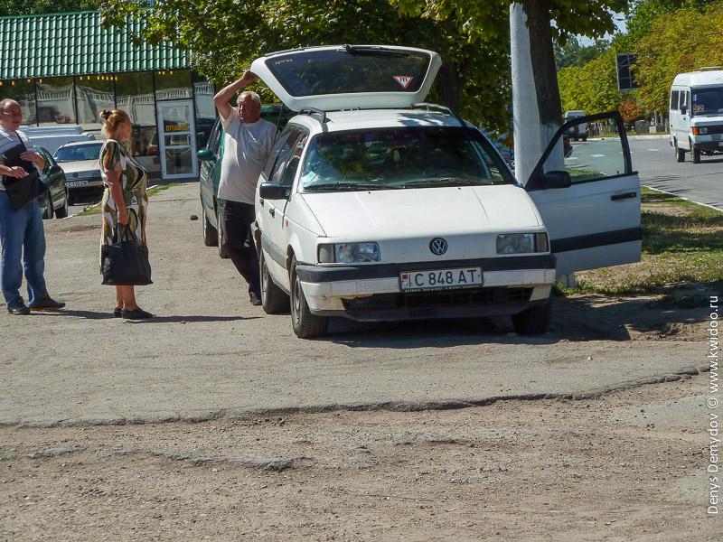 Автомобильные номера и водители в Приднестровье