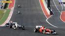 Felipe Massa, Ferrari F2012 & Sergio Perez Sauber C31