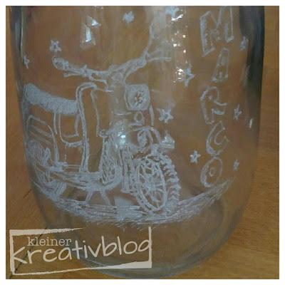 kleiner-kreativblog: graviertes keksglas