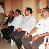Demonstration of Amateur Radio Satellite communication to Mr Annadurai and Mr Raghavamurthy - DSC00137.JPG