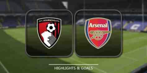 Bournemouth vs Arsenal Match Highlight
