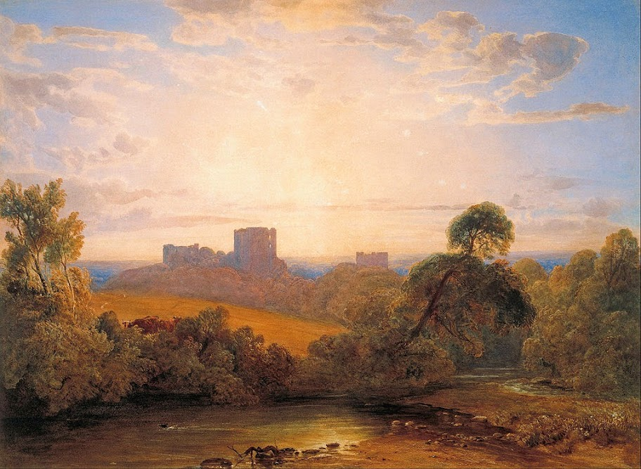 Peter De Wint - Kenilworth Castle - Google Art Project
