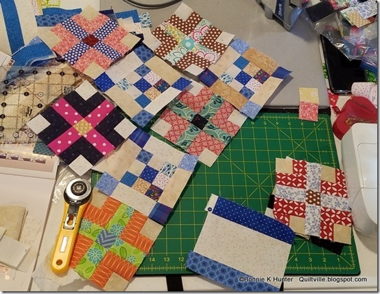 Quiltville's Quips & Snips!!: A Garden Party Kind of Day! : garden party quilt pattern - Adamdwight.com
