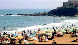 Boumerdès: poursuite du flux des estivants vers les plages et les fronts de mer