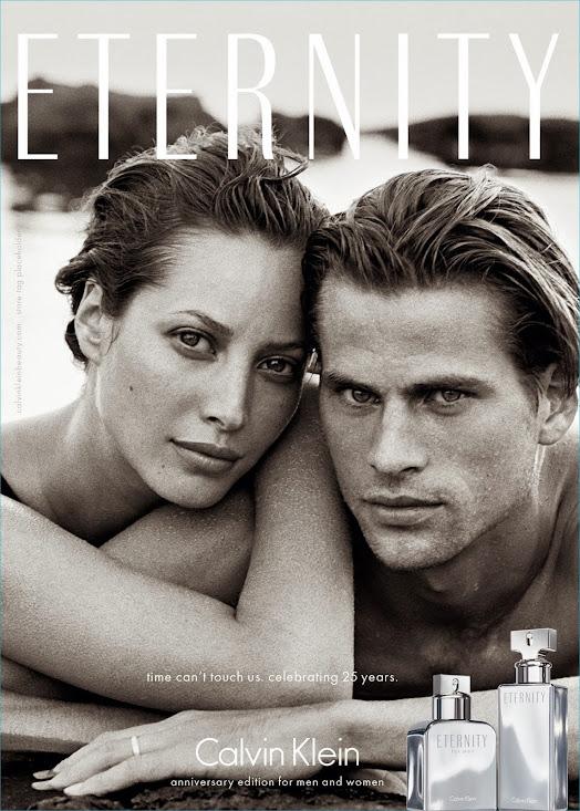 """Eternity"" de Calvin Klein celebra su 25 aniversario"