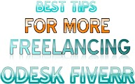 BEST TIPS FOR MORE FREELANCING JOB ODESK FIVERR