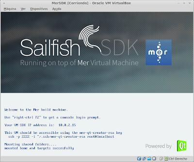 Máquina Virtual SDK