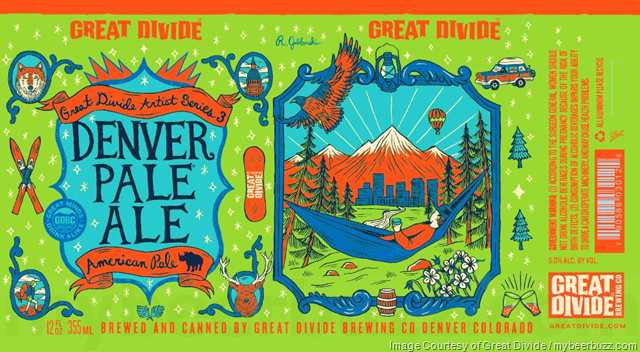Great Divide Artist Series 3 Denver Pale Ale