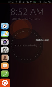 Ubuntu Touch launcher