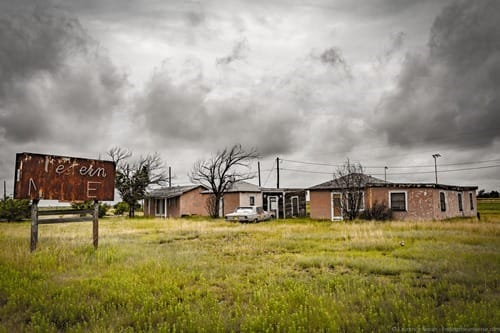 Abandoned Motel Route 66 New Mexico