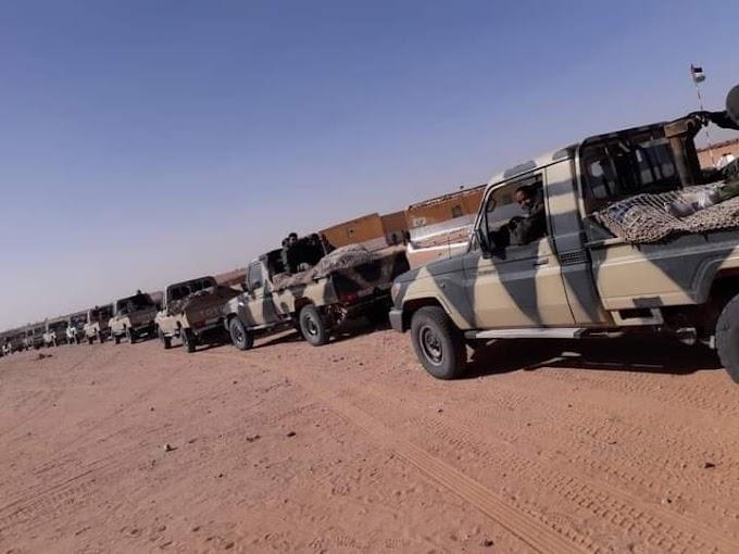 El Ejército saharaui desbarata una operación marroquí cerca del muro en el Sáhara Occidental.
