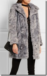 Karl Largerfeld faux fur coat