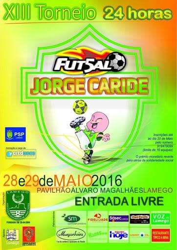 XIII Torneio de Futsal – 24horas – Jorge Caride – Lamego – 2016