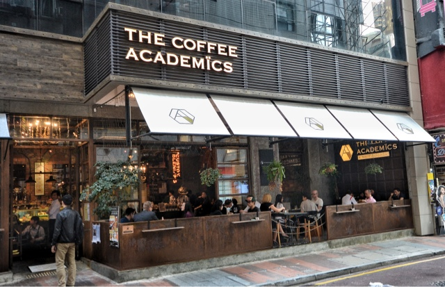 Hungry Hong Kong: THE COFFEE ACADEMICS Cafe Causeway Bay Hong Kong