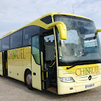 Mercedes Tourismo van Voyages CHAREUL (F)