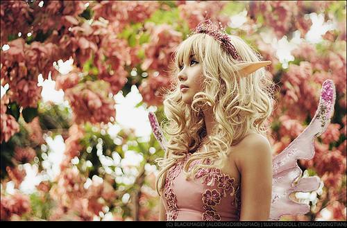 Pink Elf, Elven Girls