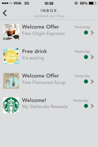 how to delete a starbucks card from my account