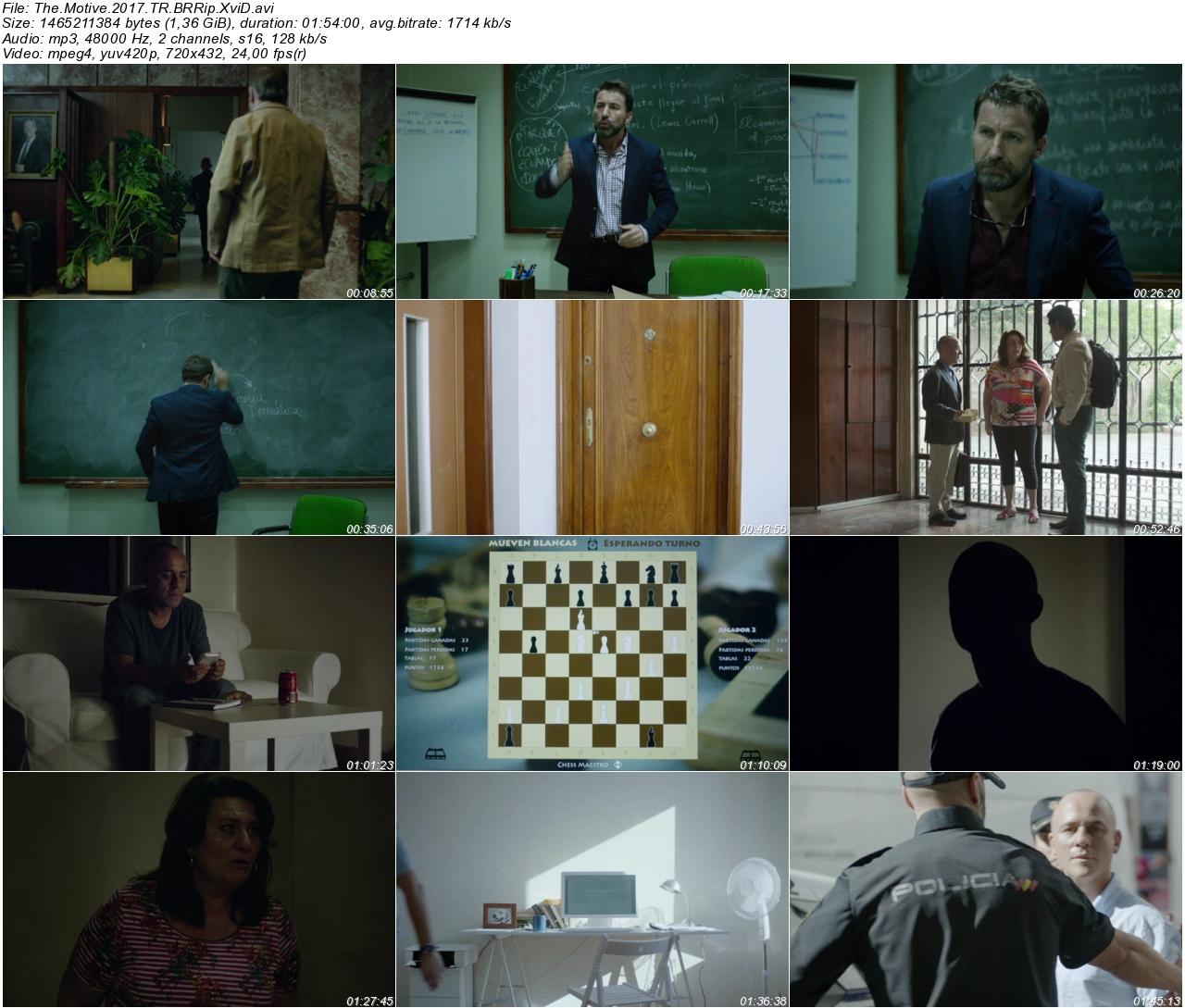 The Motive 2017 - 1080p 720p 480p - Türkçe Dublaj Tek Link indir