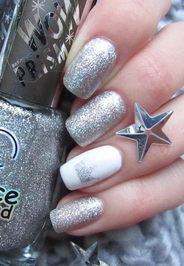 Latest Chrome Nail Art Designs For Woman In 2018 5