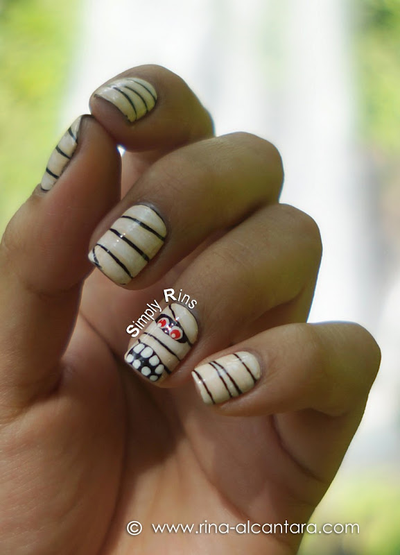 Mummy Remake Nail Art Design