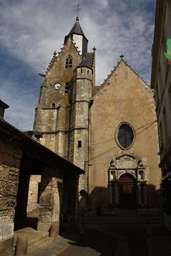 Mamers église Saint-Nicolas