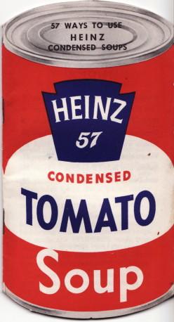 Heinz Tomato Soup Die-cut