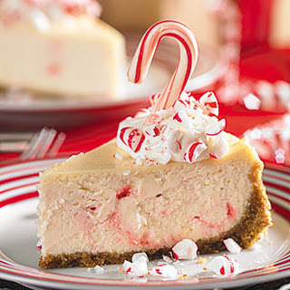 Peppermint Candy Cheesecake