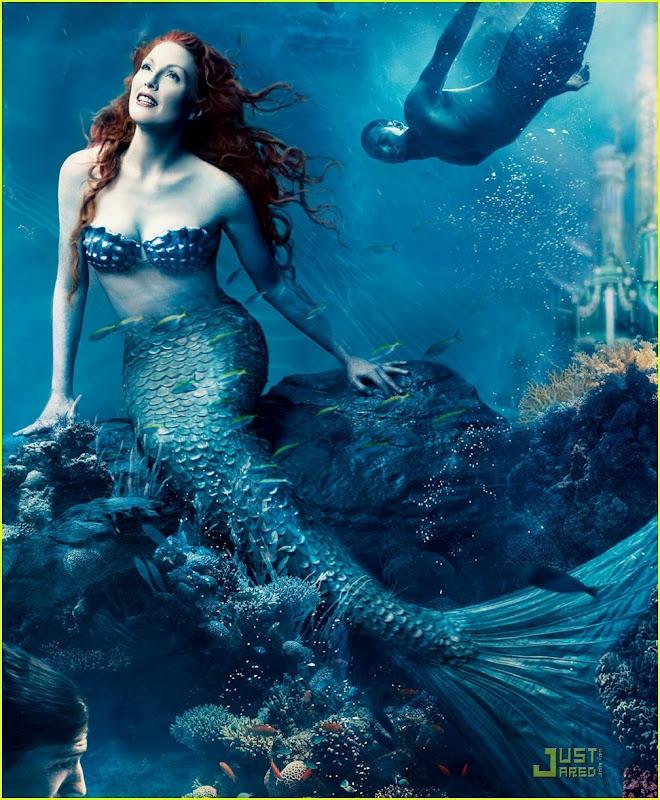 The Little Mermaid Julianne Moore, Mermaids