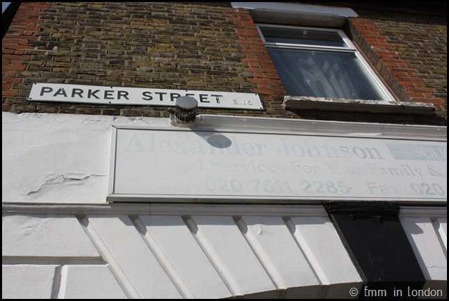 Derelict London Silvertown - Ghost Sign Parker Street