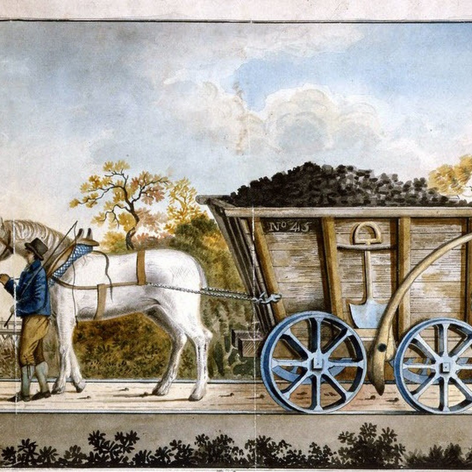 The Wooden Wagonways of Britain