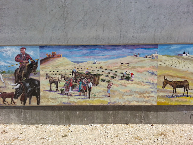 Mural de Pascual Aranda, La vendimia