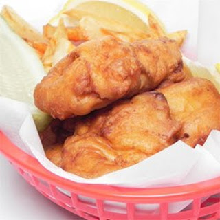 Classic Fish and Chips.