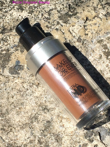 NoireTropicalBeauty MUFE Ultra HD foundation dark skin review