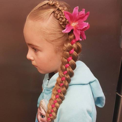 Cute Braided Hairstyles trendy for kids 2017 2
